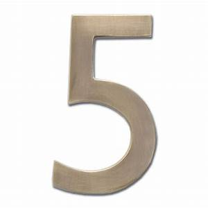brass antique satin transitional numbers house numbers and With brass numbers and letters