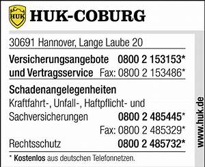 Kfz Versicherung Huk Berechnen : huk coburg schaden melden in hannover mitte im telefonbuch finden ~ Themetempest.com Abrechnung