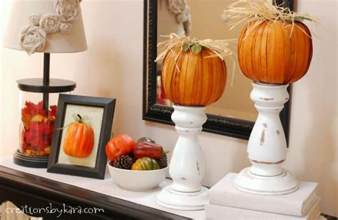 fall decorating ideas entryway table decor