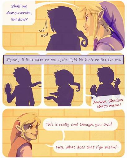Swords Four Vio Zelda Legend Link Shadow