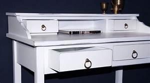 Schreibtisch Shabby Chic Look : sekret r schreibtisch schminktisch konsolentisch massiv ~ Lizthompson.info Haus und Dekorationen
