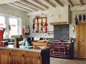 Cuisine Ancienne Campagne : d coration cuisine style bistro exemples d 39 am nagements ~ Nature-et-papiers.com Idées de Décoration