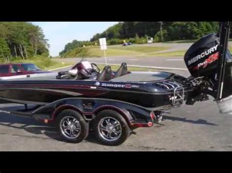 Ranger Bass Boat Blackout by 2018 Ranger Z520c Cup Mercury 250 Pro Xs Optimax Youtube