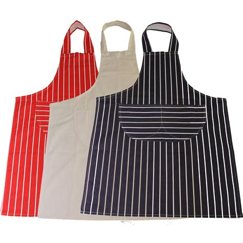 Kitchen Aprons by Striped Butchers Chef Cooking Kitchen Catering Apron Bib