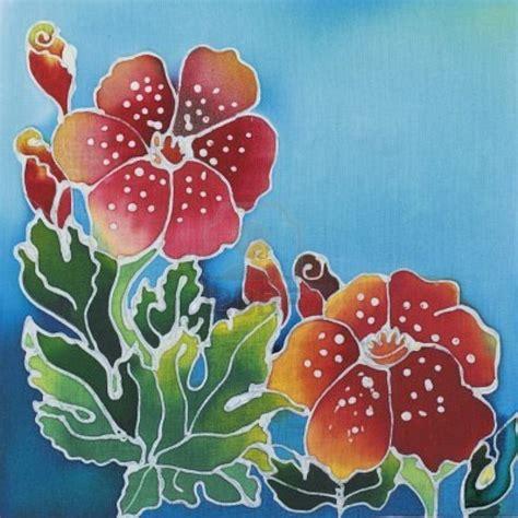 stock photo   art class batik art painting