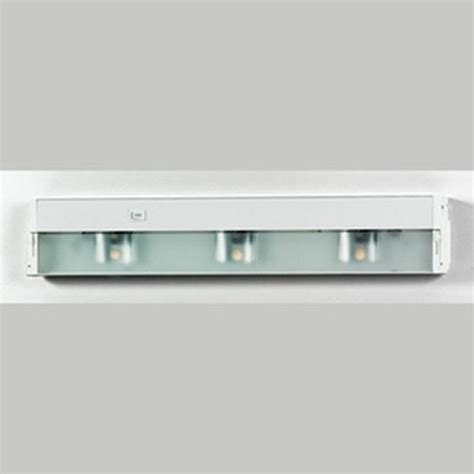 Halogen Cabinet Lighting by White 3 Light Halogen Undercabinet Ebay