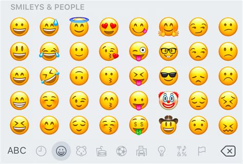 do i get the new emojis on my iphone smiley emoji in your work emails are you look