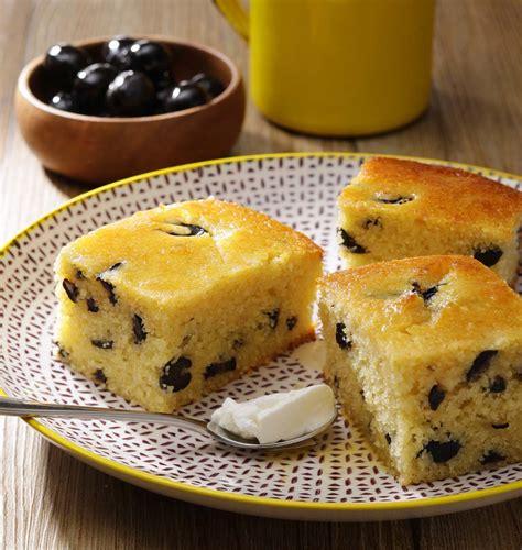 recettes de cuisine corse gâteau de semoule sucré aux olives noires les meilleures