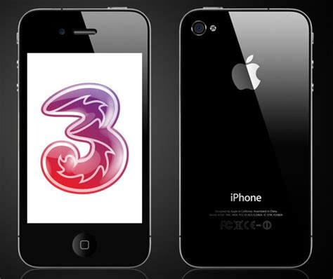 cheapest iphone plan iphone 4 uk to be the cheapest on three