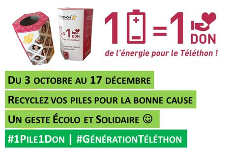 don d usage montant maximum l op 233 ration 1 pile 1 don revient pour le t 233 l 233 thon 2016 afm t 233 l 233 thon