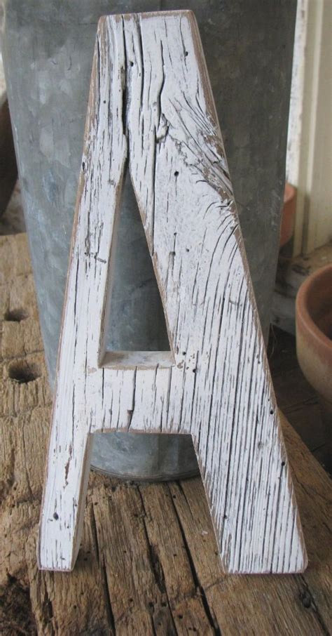 distressed wood letters pin by sue haye kubinski on crafts