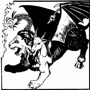 Chimera  From The 1st Edition Monster Manual    With