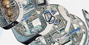 Space Shuttle Cross Section - Pics about space