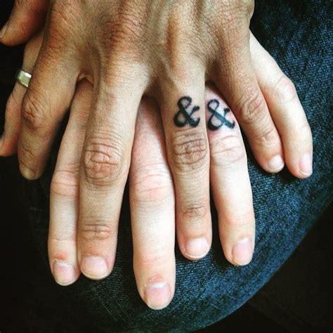 40 sweet meaningful wedding ring tattoos