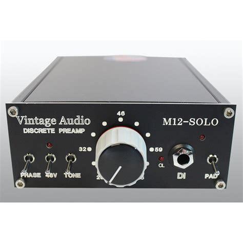 Vintage Audio Solo Mic Preamp Discrete Cinemag