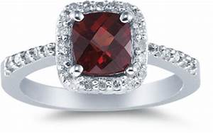 Gemstone engagement rings from amethyst to emerald to for Garnet wedding ring meaning