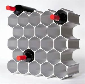 Meuble Rangement Bouteille : le rangement bouteilles de vin concepts modernes ~ Melissatoandfro.com Idées de Décoration