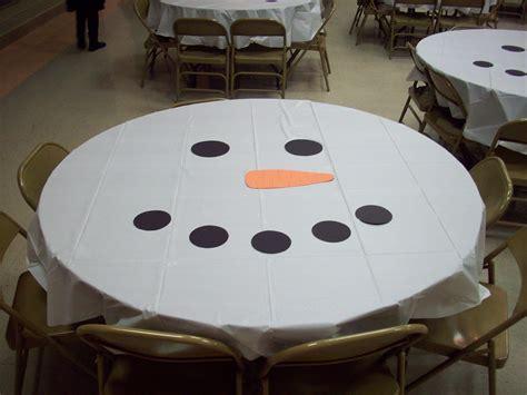 Snowman Table Decorations - diy decoration ideas pink lover