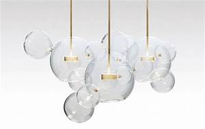 Luminaire Boule Verre : luminaire design en verre ~ Teatrodelosmanantiales.com Idées de Décoration