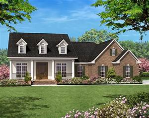 Ranch Home Plans  Country Designs 142
