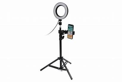 Selfie Tripod Stand Phone Ring Studio Dimmable