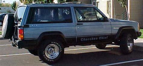 jeep cherokee chief blue 1984 jeep cherokee chief