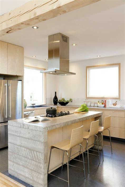 comptoir de cuisine comptoir de cuisine blanc 52 idées élégantes avec du