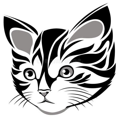 cute cat vector stock vector illustration  kitty