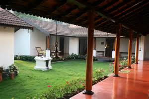 traditional kerala home interiors heritage homestead harivihar brick burrow