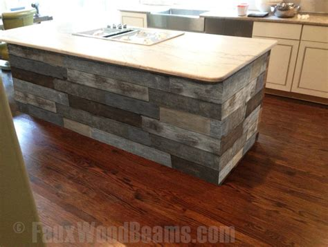 kitchen island panels diy kitchen makeover ideas faux wood workshop