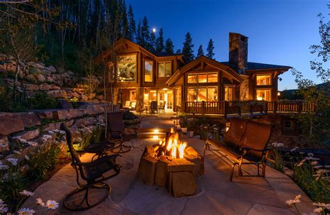 Residental Home Vail Mountain Elegant Hoeft Builders West