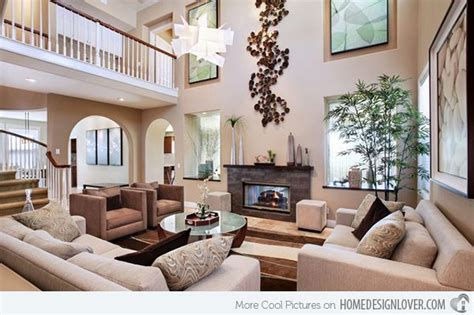 Painting Living Room High Ceilings by 15 Interiors With High Ceilings Living Room Remodel