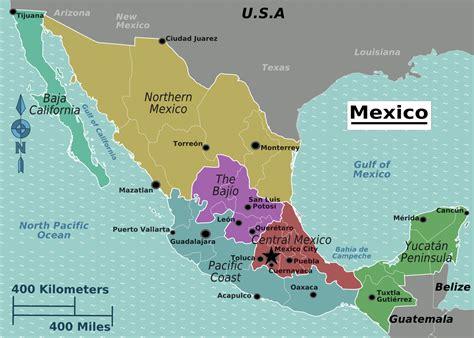 Ģeogrāfiskā karte - Meksika - 1,994 x 1,426 Pikselis - 636 ...