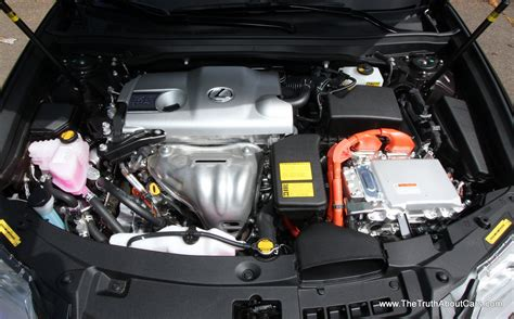 how does a cars engine work 2013 lexus gs engine control 2013 lexus es 300h hybrid engine 2 5l photography courtesy of alex l the truth about