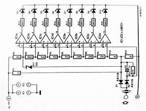 Led vu meter for Vu meter circuit further led vu meter circuit additionally led level