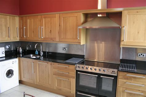 kitchen stove backsplash kitchen with stainless steel backsplash and appliances