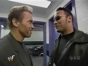 2 pics of Arnold Schwarzenegger and The Rock ...
