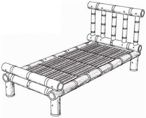 bed maken zelf een bamboe bed maken