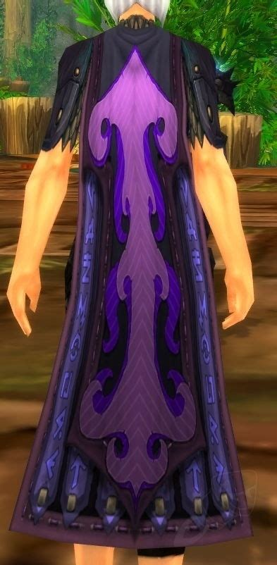 pattern twilight dragonscale cloak item world  warcraft
