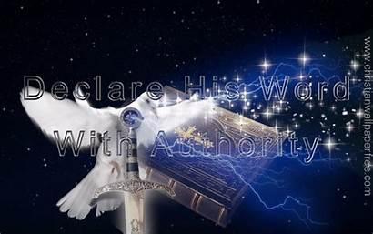Word Authority Declare Christian
