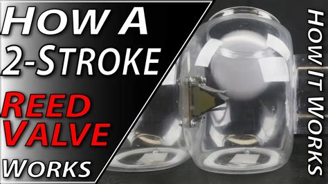 How A 2-stroke Reed Valve Works
