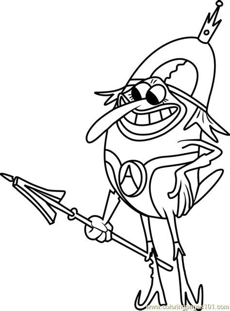 lord royal highness coloring page  spongebob