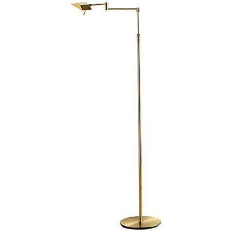 Holtkoetter Floor L Led by Dual Brass Swing Arm Led Holtkoetter Floor L U7634