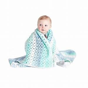 Caron U00ae Baby Cakes U2122 Tiles For Miles Crochet Baby Blanket