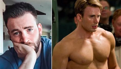 Chris Evans Accidentally Posts A Very Private Photo On ...