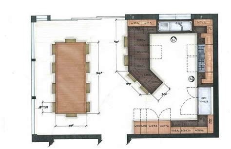 kitchen floor plans islands kitchen ideal kitchen layouts floor plans ideal kitchen