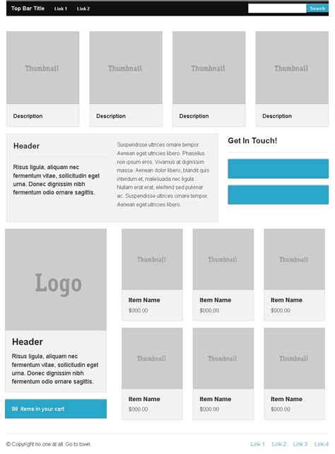 Zurb Html Templates by Website Framework Template Pictures Inspiration