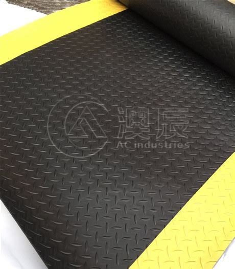 Anti Static Sheet With Warning Edge, Willow Rubber Sheet