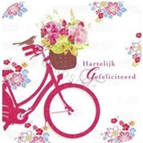 afbeelding verjaardag bos bloemen spaans gefeliciteerd fiets vrouw inspectionconference