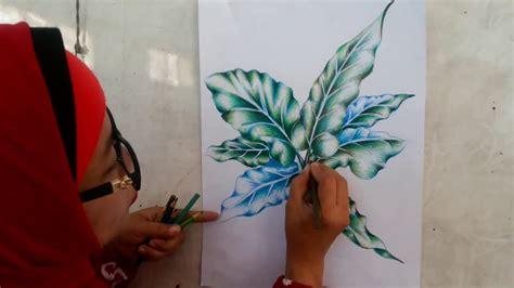 tehnik mewarnai dengan pensil warna by yuniar sofiana